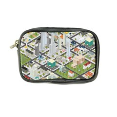 Simple Map Of The City Coin Purse by Nexatart
