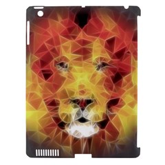 Fractal Lion Apple Ipad 3/4 Hardshell Case (compatible With Smart Cover) by Nexatart