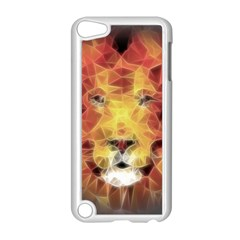 Fractal Lion Apple Ipod Touch 5 Case (white) by Nexatart