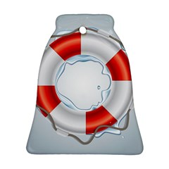 Spare Tire Icon Vector Bell Ornament (two Sides)