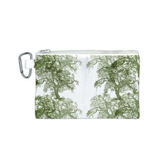 Trees Tile Horizonal Canvas Cosmetic Bag (s) by Nexatart