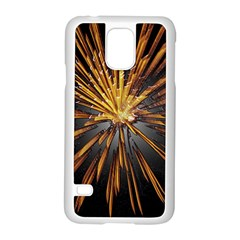 Pyrotechnics Thirty Eight Samsung Galaxy S5 Case (white) by Nexatart