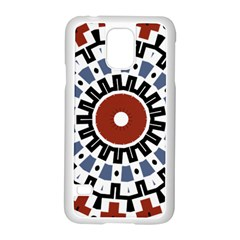 Mandala Art Ornament Pattern Samsung Galaxy S5 Case (white) by Nexatart