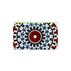 Mandala Art Ornament Pattern Cosmetic Bag (xs) by Nexatart