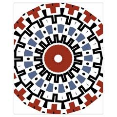 Mandala Art Ornament Pattern Drawstring Bag (small) by Nexatart