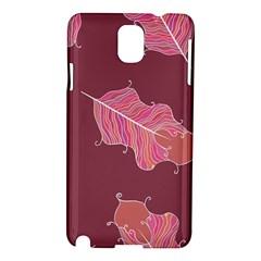 Plumelet Pen Ethnic Elegant Hippie Samsung Galaxy Note 3 N9005 Hardshell Case by Nexatart
