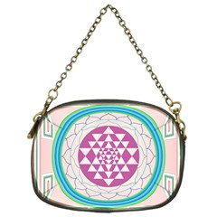 Mandala Design Arts Indian Chain Purses (one Side)  by Nexatart