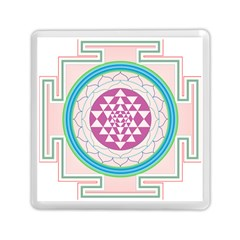Mandala Design Arts Indian Memory Card Reader (square)  by Nexatart