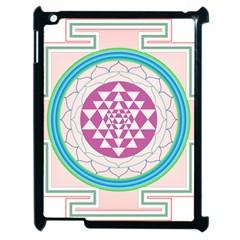Mandala Design Arts Indian Apple Ipad 2 Case (black) by Nexatart