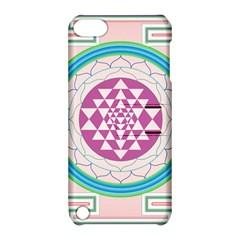 Mandala Design Arts Indian Apple Ipod Touch 5 Hardshell Case With Stand by Nexatart