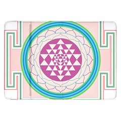 Mandala Design Arts Indian Samsung Galaxy Tab 8 9  P7300 Flip Case by Nexatart