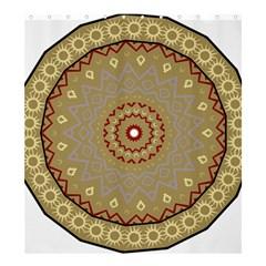 Mandala Art Ornament Pattern Shower Curtain 66  X 72  (large)  by Nexatart