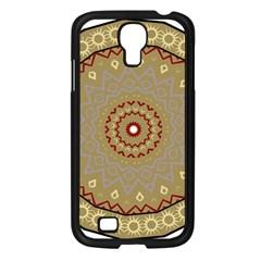 Mandala Art Ornament Pattern Samsung Galaxy S4 I9500/ I9505 Case (black) by Nexatart