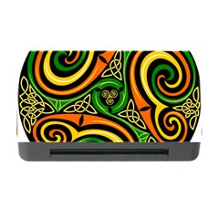 Celtic Celts Circle Color Colors Memory Card Reader With Cf by Nexatart