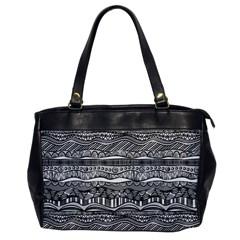 Ethno Seamless Pattern Office Handbags by Nexatart