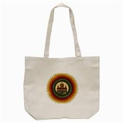Building Mandala Palace Tote Bag (cream) by Nexatart