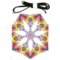 Colorful Chromatic Psychedelic Shoulder Sling Bags by Nexatart