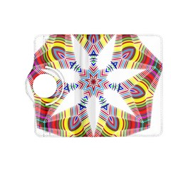 Colorful Chromatic Psychedelic Kindle Fire Hd (2013) Flip 360 Case by Nexatart