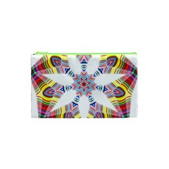 Colorful Chromatic Psychedelic Cosmetic Bag (xs) by Nexatart