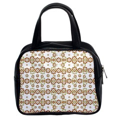 Multicolor Graphic Pattern Classic Handbags (2 Sides) by dflcprints