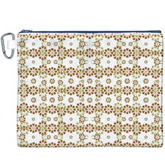 Multicolor Graphic Pattern Canvas Cosmetic Bag (xxxl) by dflcprints