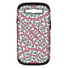 Multicolor Graphic Pattern Samsung Galaxy S Iii Hardshell Case (pc+silicone) by dflcprints