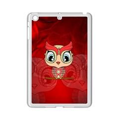 Cute Colorful  Owl, Mandala Design Ipad Mini 2 Enamel Coated Cases by FantasyWorld7
