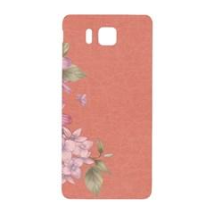 Flower Illustration Rose Floral Pattern Samsung Galaxy Alpha Hardshell Back Case by paulaoliveiradesign