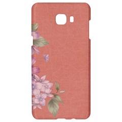 Flower Illustration Rose Floral Pattern Samsung C9 Pro Hardshell Case  by paulaoliveiradesign