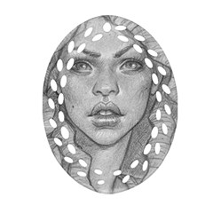 Dreaded Princess  Oval Filigree Ornament (two Sides) by shawnstestimony