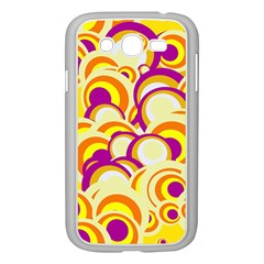 Retro Pattern 1973f Samsung Galaxy Grand Duos I9082 Case (white) by MoreColorsinLife