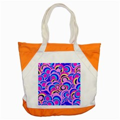 Retro Pattern 1973b Accent Tote Bag by MoreColorsinLife