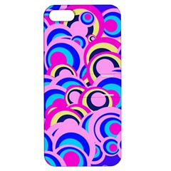 Retro Pattern 1973b Apple Iphone 5 Hardshell Case With Stand by MoreColorsinLife