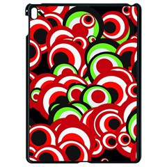 Retro Pattern 1973c Apple Ipad Pro 9 7   Black Seamless Case by MoreColorsinLife