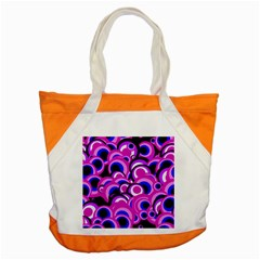 Retro Pattern 1973d Accent Tote Bag by MoreColorsinLife