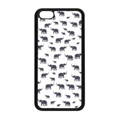 Elephant Pattern Apple Iphone 5c Seamless Case (black) by stockimagefolio1