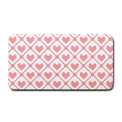Heart Pattern Medium Bar Mats by stockimagefolio1