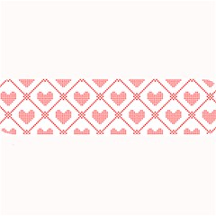 Heart Pattern Large Bar Mats by stockimagefolio1