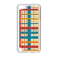 Plaid Pattern Apple Ipod Touch 5 Case (white) by linceazul