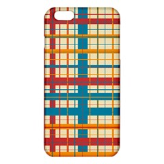 Plaid Pattern Iphone 6 Plus/6s Plus Tpu Case by linceazul
