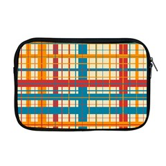 Plaid Pattern Apple Macbook Pro 17  Zipper Case by linceazul