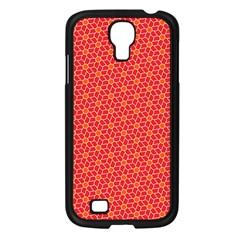 Flower Pattern Samsung Galaxy S4 I9500/ I9505 Case (black) by stockimagefolio1