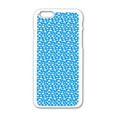 Cloud Pattern Apple Iphone 6/6s White Enamel Case by stockimagefolio1