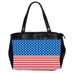 Usa Flag Office Handbags (2 Sides)  by stockimagefolio1