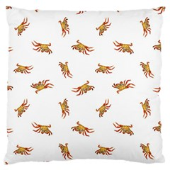Crabs Photo Collage Pattern Design Standard Flano Cushion Case (one Side) by dflcprints