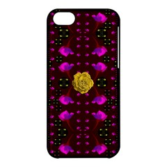 Roses In The Air For Happy Feelings Apple Iphone 5c Hardshell Case by pepitasart