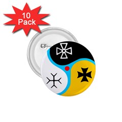 Assianism Symbol 1 75  Buttons (10 Pack) by abbeyz71