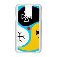 Assianism Symbol Samsung Galaxy S5 Case (white) by abbeyz71