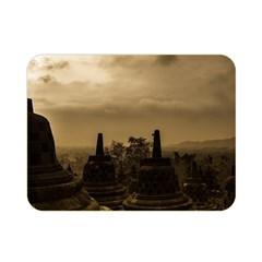 Borobudur Temple Indonesia Double Sided Flano Blanket (mini)  by Nexatart