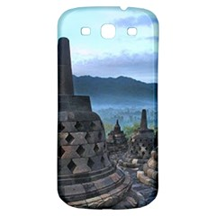 Borobudur Temple  Morning Serenade Samsung Galaxy S3 S Iii Classic Hardshell Back Case by Nexatart